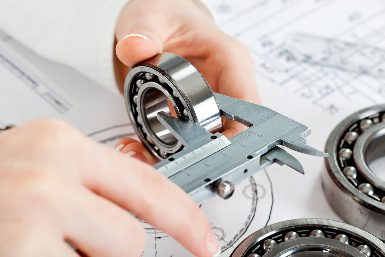 Foto Messschieber - MRK Mensch Roboter Kollaboration - Bernsau Engineering